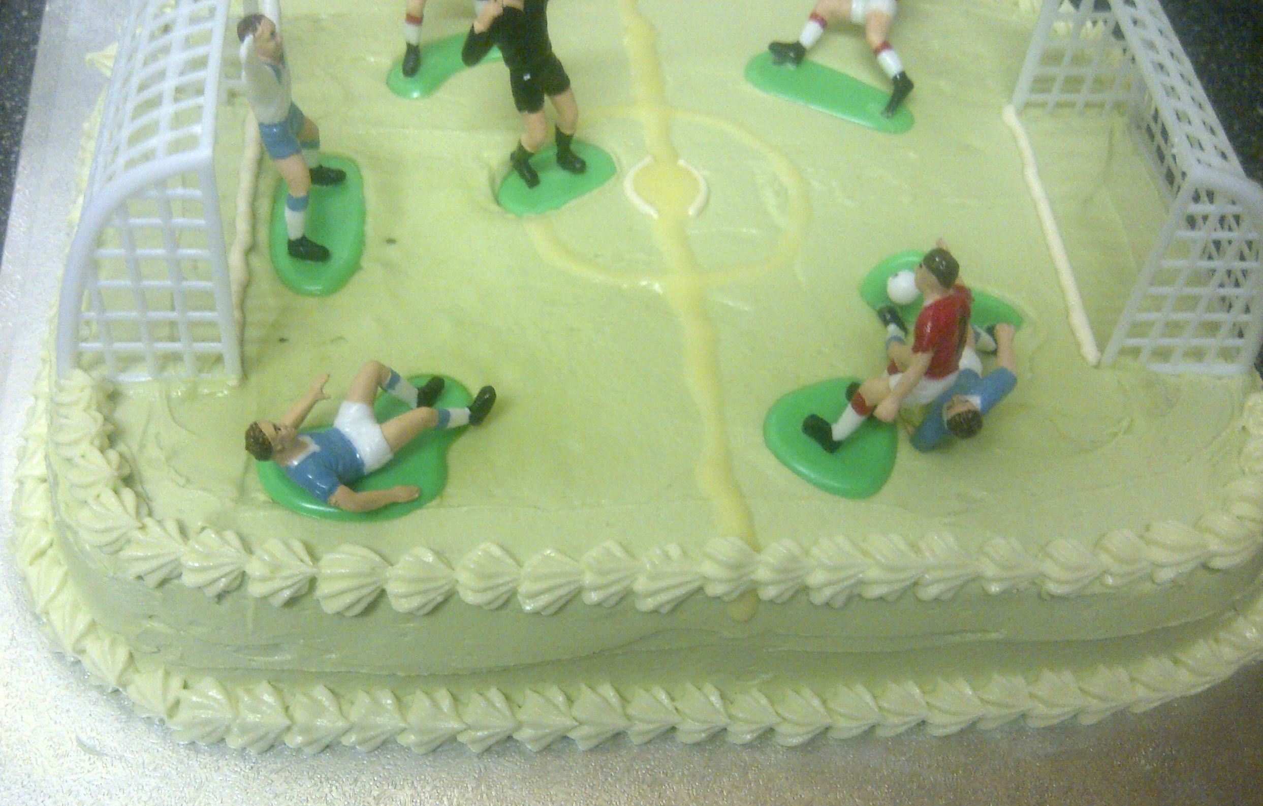 Football Pitch Cake Recipe