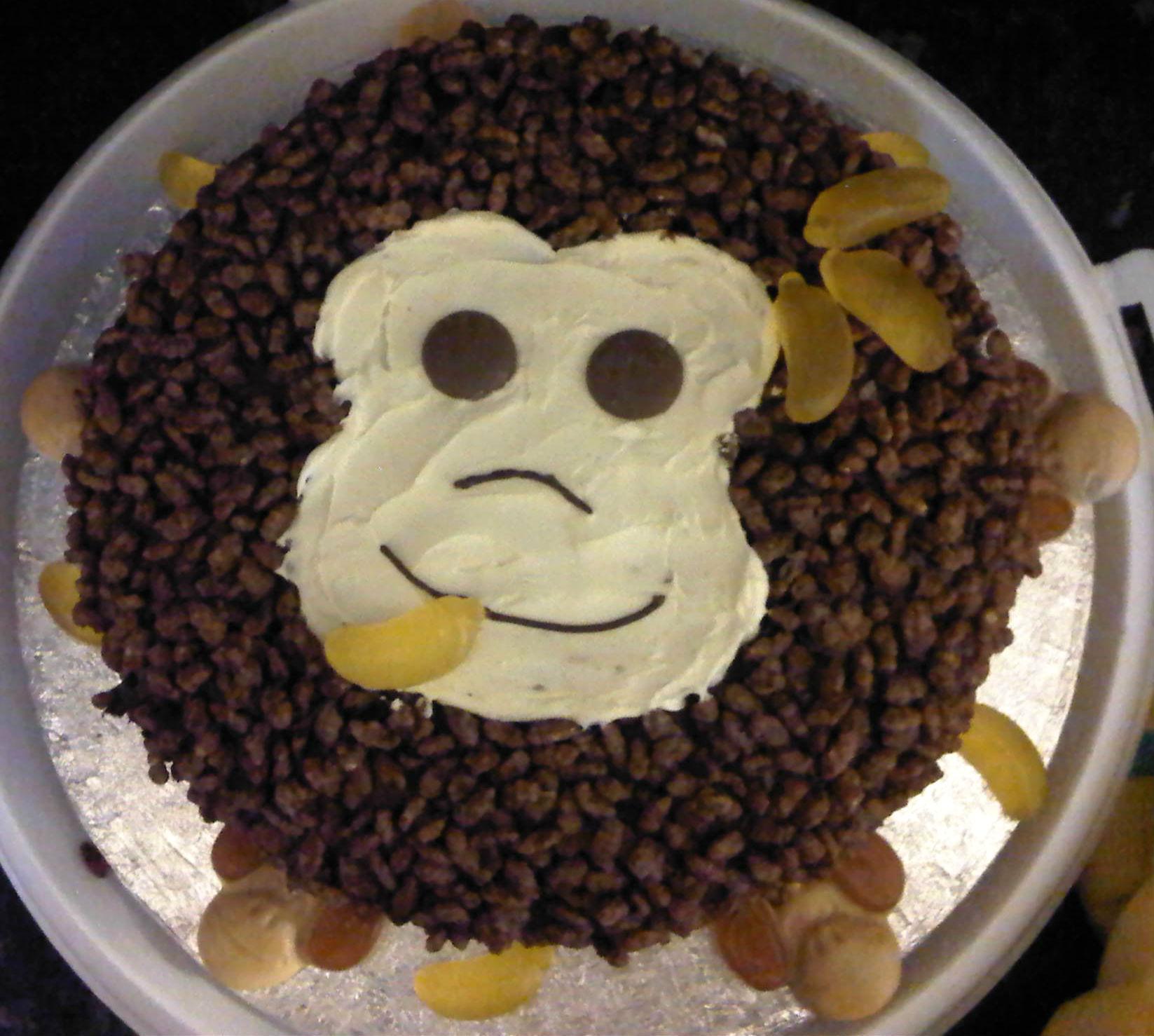 Sticky Coco Pops Cake