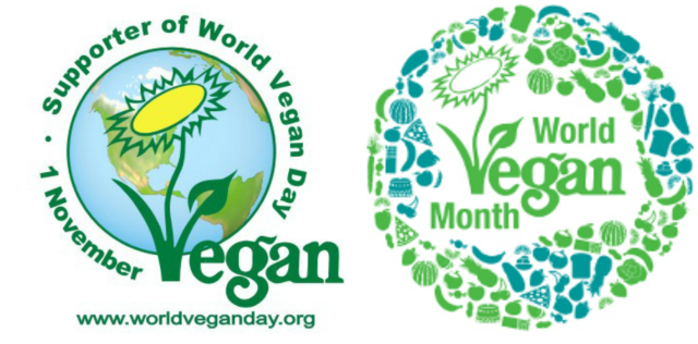 http://www.vegansociety.com/news/World-Vegan-Month---how-will-you-celebrate-.aspx http://www.veganbean.com/vb/2007/10/world-vegan-day.html