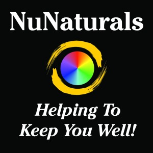 NuNaturals Logo Helping 4 x 4