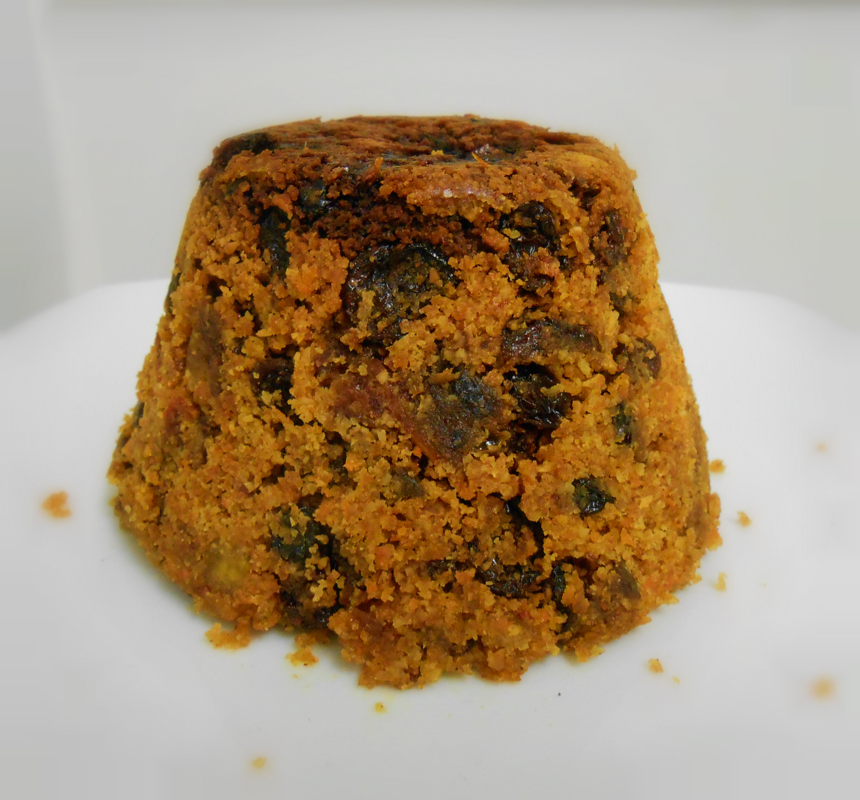 Gluten Free, Vegan, Quick and Easy Christmas Pudding | Bunny Kitchen