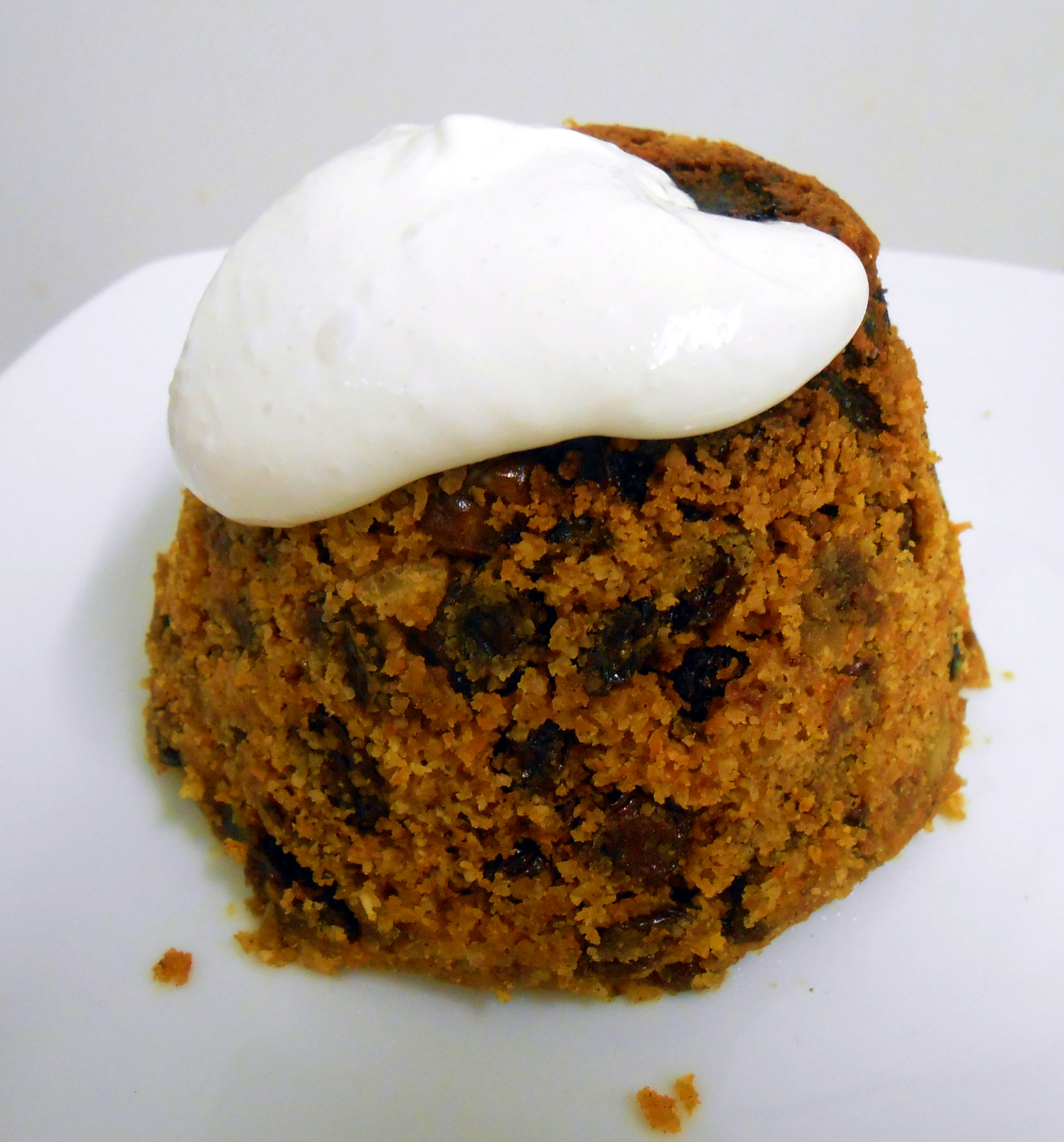 Gluten free vegan quick and easy christmas pudding for Easy xmas pudding