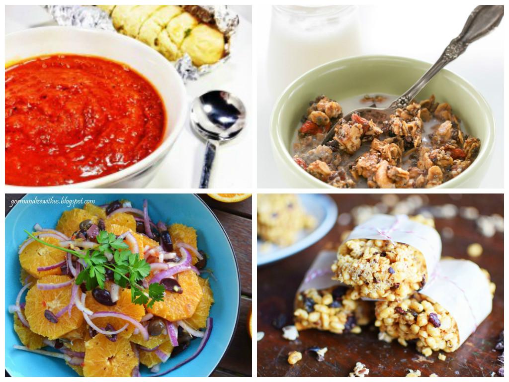 ... Salad with Cumin | Vegan & Gluten-Free Granola Bars With Cacao Nibs