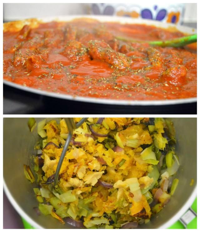 Fully Loaded Butternut & Leek Enchiladas