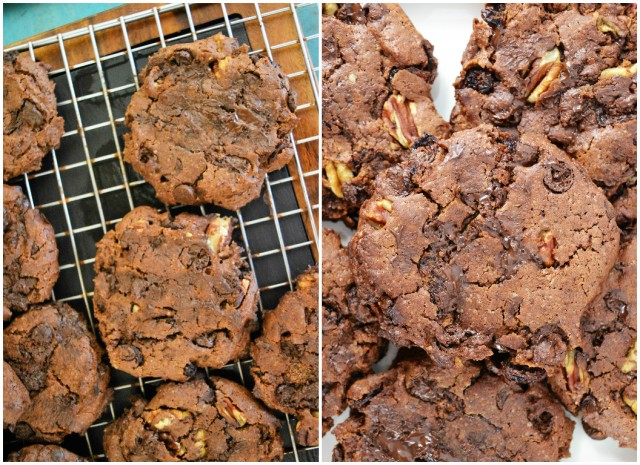 Totally Chocolate #Chocolate Chip, Pecan and Raisin #Cookies and Hotel Chocolat Luxury Chocolate GIVEAWAY! #giveaway #vegan #win #christmas