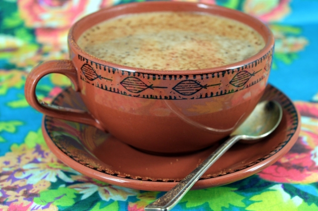 Magic Coconut Oil Mocha Coffee! #dairyfree #vegan #coffee #cocoa #chocolate #coconutoil