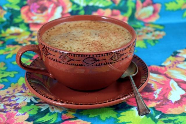 Magic  Coconut Oil Mocha Coffee! #dairyfree #vegan #coffee #cocoa #chocolate #coconutoil