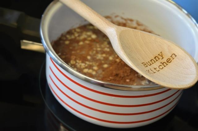 Chocolate Orange Oatmeal and Personalised Vintage Cutlery #Giveaway #vegan