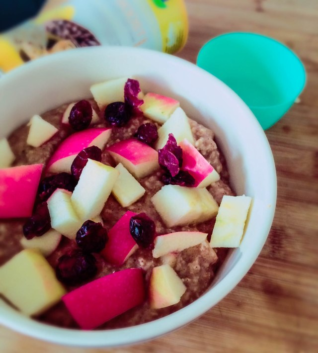 Energy Boost Oatmeal #vegan #breakfast