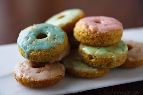 fat free #vegan donuts