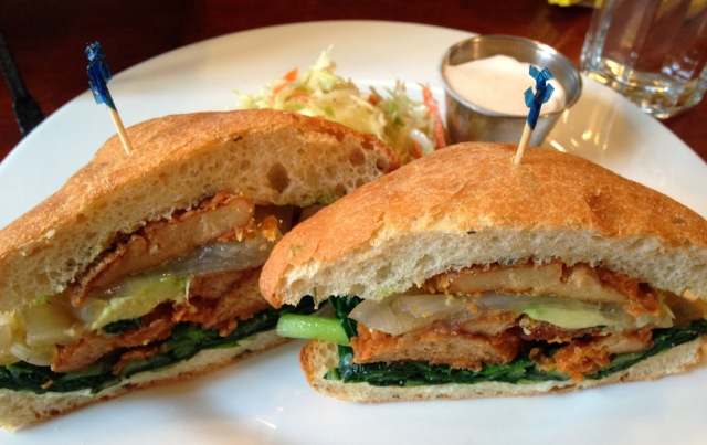 Cajun Seitan Sandwich - Candle Café via veega.co