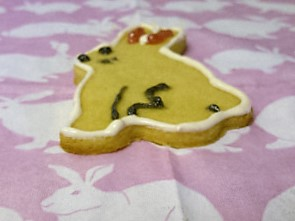 Bunny Shortbread Biscuits #vegan