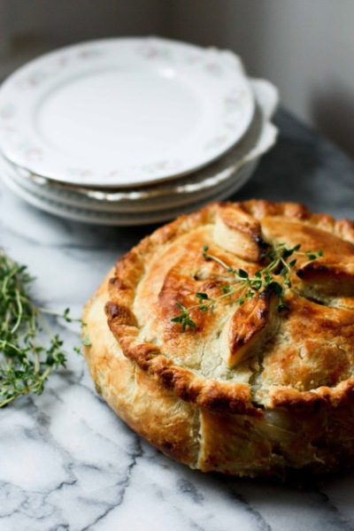 SPRING VEGETABLE POT PIE #vegan