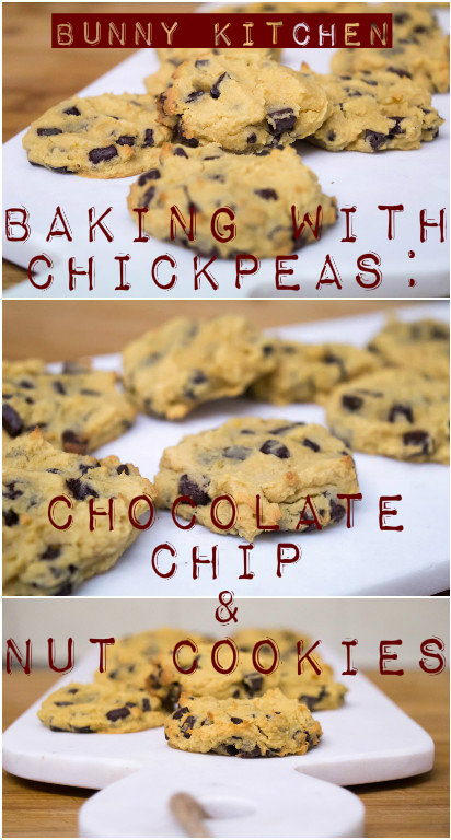 Baking with Chickpeas: Chocolate Chip & Nut Cookies #slimmingworld #lowsyn #lowcarb #glutenfree #vegan
