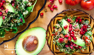 Quinoa Tabbouleh by Hemsley + Hemsley #healthy #vegan #giveaway
