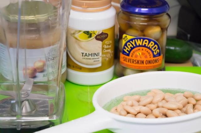 Middle Eastern Tofu Bowl With Lightened up Tahini Sauce #vegan