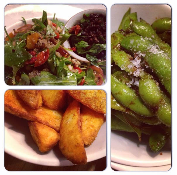 Edamame are a favourite at Giraffe