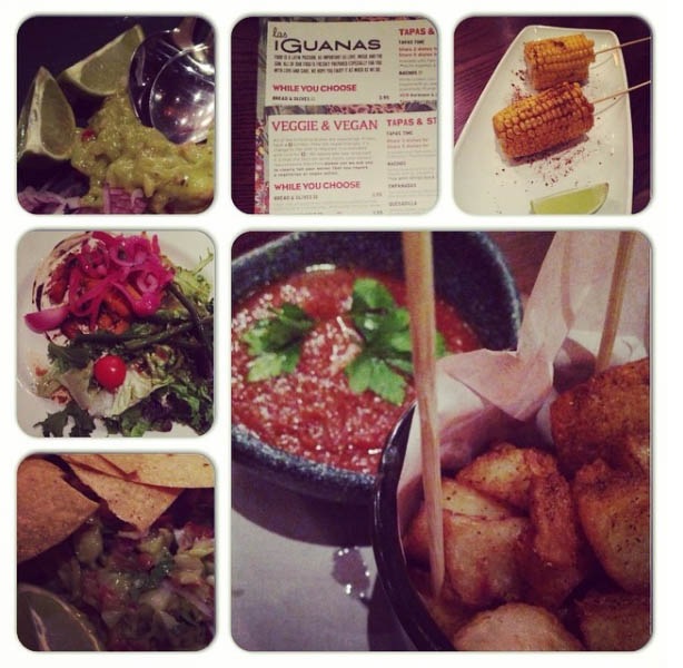 Tapas at Las Iguanas
