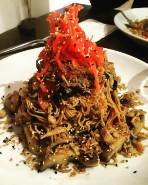Yakisoba Noodles at Noodle One