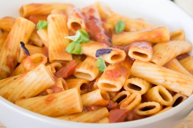 Pasta al'arrabiata #italian #vegan #pasta