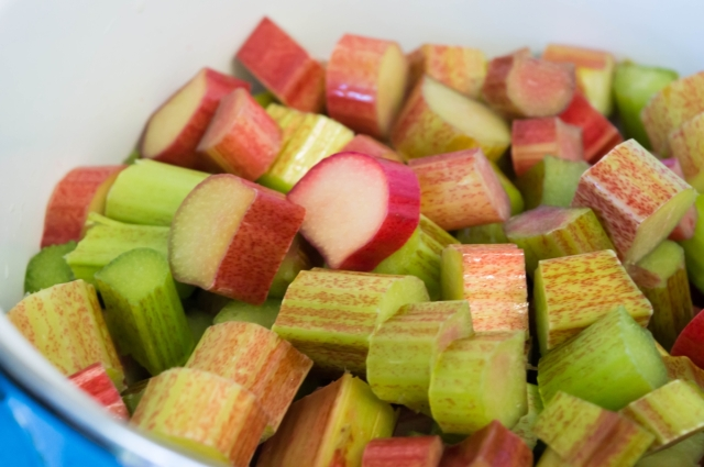 Delicious sour rhubarb with a hint of orange and spice.