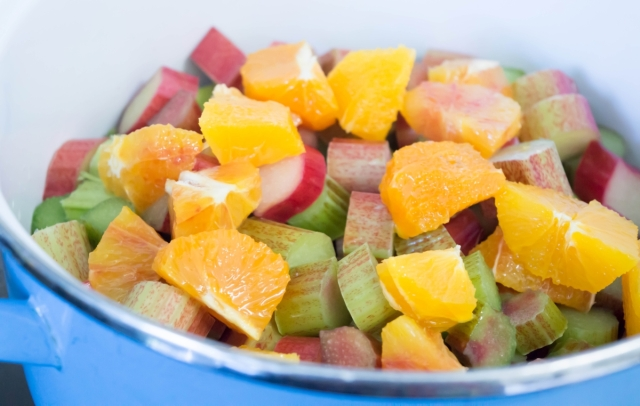 Rhubarb & Orange is a classic and delicious combination.