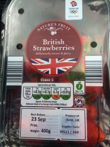 British Strawberries from Aldi