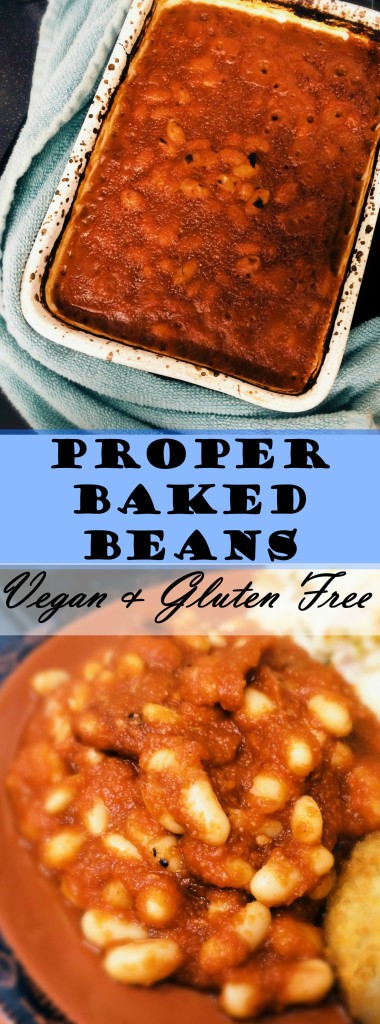 Love baked beans? Try making your own delicious, #healthy, nutrient packed baked beans. So easy, no chopping, 10 minute prep! #vegan #glutenfree