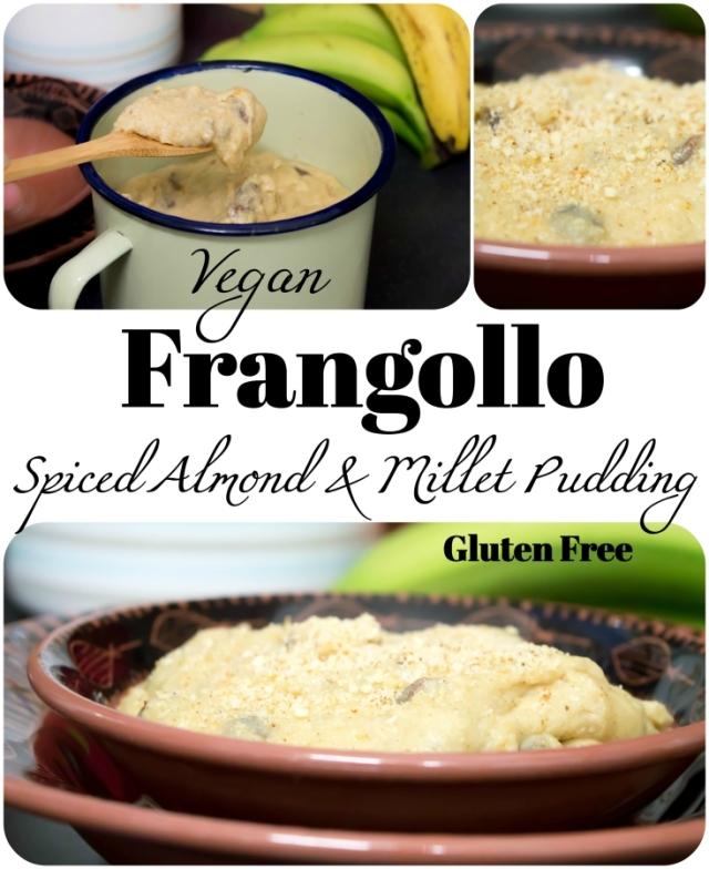 Frangollo - Spiced Almond & Semolina Pudding #vegan #glutenfree
